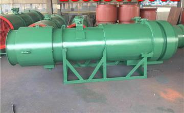 KCS-100D矿用湿式除尘风机