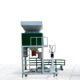 ZH水稻收割包装秤机器自动称量