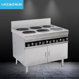 lz-520乐灶商用电磁炉 四头六眼电磁煲仔炉
