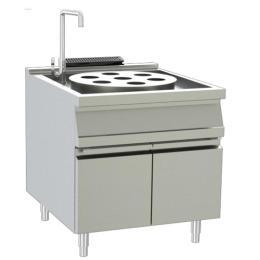 燃氣單頭蒸爐連燃氣單頭蒸爐連下柜900系列