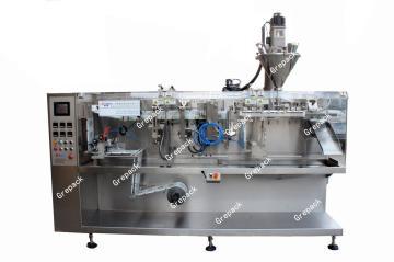 HC-130水平卷膜包装机 适合包装小袋组合坚果