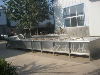 YT—800净菜加工生产线 连续式净菜清洗流水线