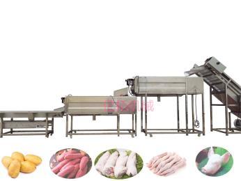 YT—1500小型猪蹄专用清洗机设备
