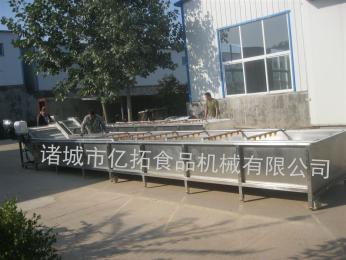 YT—800供应叶菜类蔬菜加工清洗流水线