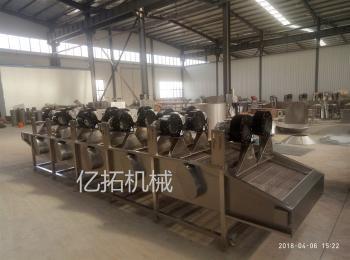 YT—1000连续式酱菜包装袋翻转式风干机