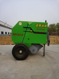 SL5080小麦秸捡拾打捆机圆捆打包机图片