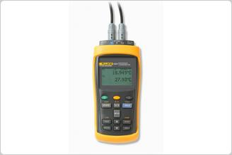 FLUKE1523参考测温仪1524校准温度计 标准器