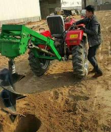 YD-TF40手推式汽油挖坑机 马力大技术好操作稳固