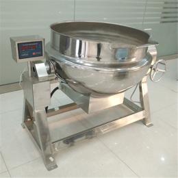 600L商用蒸汽加熱化糖鍋 自動攪拌熬煮鍋