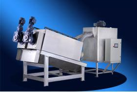 wj-102疊螺式污泥脫水機的生產廠家