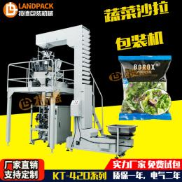 LD-420A-07蔬菜沙拉全自动立式多功能包装机