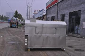 JR-200-2-G廠家直銷吉林1米5環保無煙木炭燒烤爐
