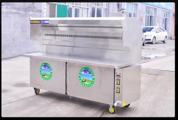 JR-200-2-G无烟环保烧烤炉新疆百色餐饮供货