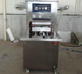 DM-350A猪肉盒式包装机充氮气全自动封口机