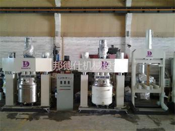 QF5-5000L供应5000L分散搅拌机 玻璃胶基料生产设备