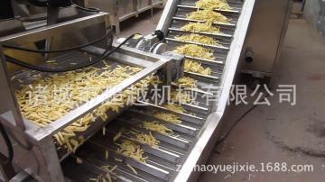 全自动妙脆角油炸生产线,薯条薯片生产线