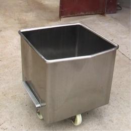 200L供应不锈钢肉肠加工厂设备小料车