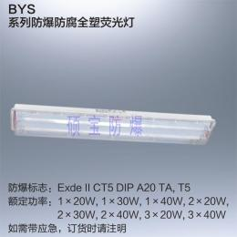 LED防爆防腐全塑荧光灯BYS-1x18W/2x18W