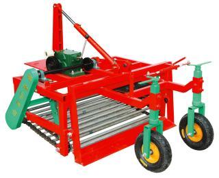 LBDS-4四輪拖拉機前置大蒜收獲機收割拋蒜挖蒜機