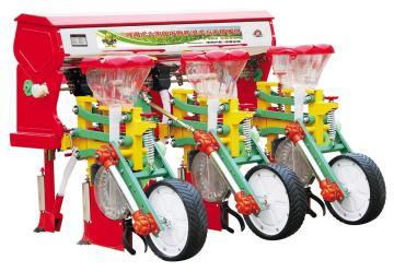 2BYSF-3悬浮式六连杆三行玉米施肥播种机