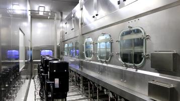 HSG桶装水设备云南桶装山泉水独立式水箱灌装生产线