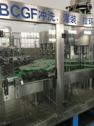 玻璃瓶果汁饮料生产线