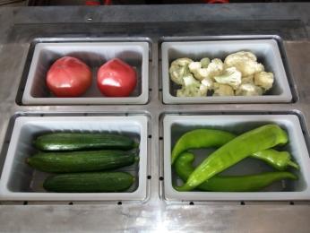 JC-2脫水蔬菜真空充氣保鮮氣調包裝機封口機