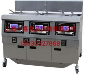 OFG-323L上海一喜OFG-323L型电热开口炸鸡炉   三缸(液晶板)