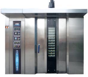 YKZ-200上海一喜YKZ-200 64盘热风旋转烤炉 燃油式