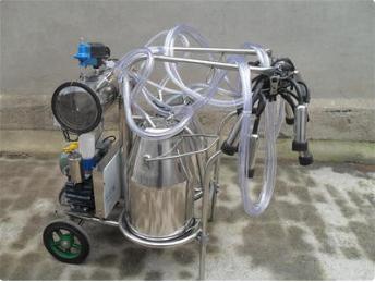 雙桶擠奶機