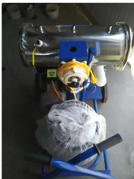 单桶真空泵挤奶机