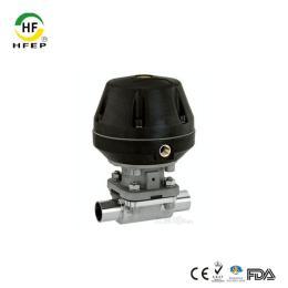 HFQD-15316L不锈钢卫生级气动隔膜阀