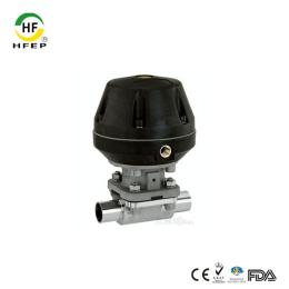 HFQD-15316L不銹鋼衛生級氣動隔膜閥