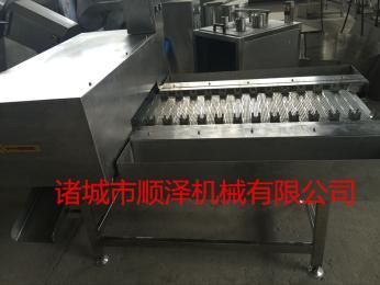 SZ-2000顺泽机械专业供应玉米去头去尾机 玉米切块机 玉米切头机 玉米去尾机