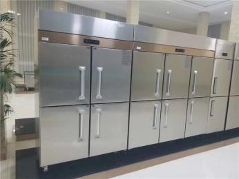 两门四门六门冰箱河南商用冰箱厂家 不锈钢厨房冷冻柜