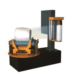 ROBO-P2100D麻涌ROBOPAC小圓筒型自粘膜繞膜捆扎機熱銷