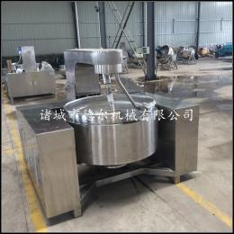 400L全不銹鋼高粘度物料電磁攪拌炒鍋
