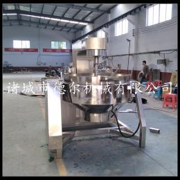 DER-300L酱料加工设备 花生酱炒锅 厂家供应 全自动燃气行星搅拌锅