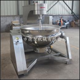 100-600升厂家直销不锈钢蒸汽辣椒酱花生酱行星搅拌炒锅
