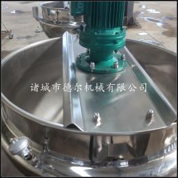 200L中藥夾層鍋熬煮中藥的設備不銹鋼中藥夾層鍋制藥設備