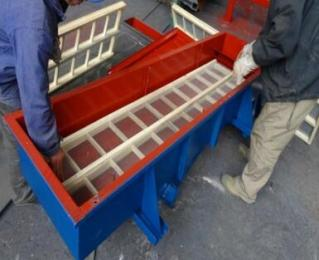 木質篩框方形篩粉機