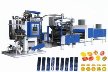 TY-300真空薄膜澆注硬糖生產線