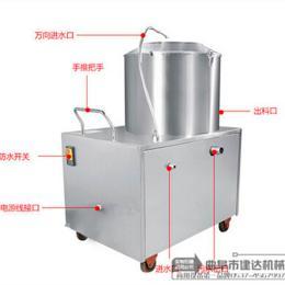 350全自动小型土豆去皮机价格 不锈钢薯类厂家
