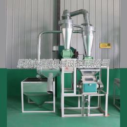 內蒙小麥加工面粉小型磨面機設備圖片