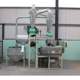 樂陵石磨樂陵瑞騰石磨面粉機 1.2噸產量電動石磨
