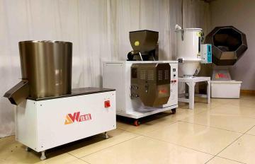JWZ200--4T-D狗粮生产线 半自动宠物食品设备