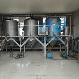 定制大豆油精煉設備