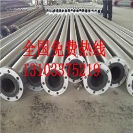 200电厂衬胶管道,供应衬胶钢管,山西管道衬胶价位