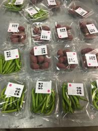 mdl590全自动带托盒蔬菜包装机