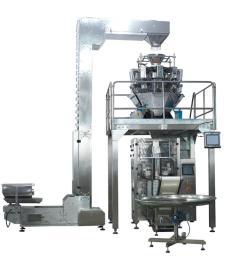 电子组合包装机山药脆片420款全自动称重计量立式包装机
